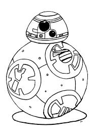 coloriage bb 8 star wars 7 reveil la force robot bb8 star