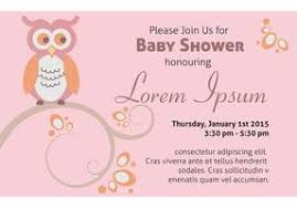 for baby shower free baby shower owl vector free vector stock