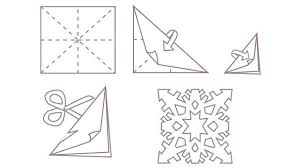 How To Make A Snowflakes Out Of Paper - 5 make paper snowflakes grandparents