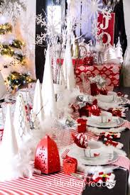 15 christmas table decorations thrifty t u0027s treasures