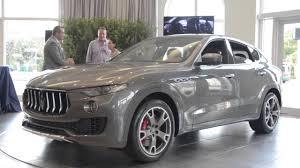 Maserati Levante Private Preview Event Youtube