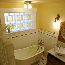 simple yet nice glass block bathroom windows civilfloor
