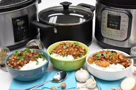 how to make chana masala with 3 different appliances street