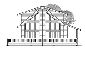 a frame house plan house plans with a view modern beautiful home for lots