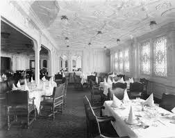 the jacobean first class dinning room britanic olympic