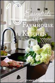 Farmhouse Kitchen Designs Photos 10 Elements Of A Farmhouse Kitchen Stonegable