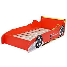 amazon com costzon new kids race car bed toddler bed boys child