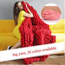 aliexpress com buy sale super thick woolen chunky yarn bulky