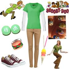 shaggy scooby doo polyvore