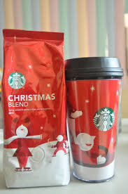 a starbucks christmas blend and tumbler giveaway winner