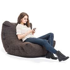 interior bean bags acoustic sofa chocolate bean bag