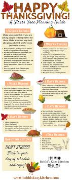 stress free thanksgiving planning guide free downloadable