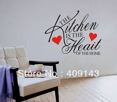 korean wall art sticker korean wall art sticker the kitchen is the heart buy korean quotes source korean quotes download