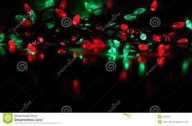 green and lights decor