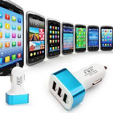 Car Charger With Usb Ports Triple Port Usb Car Charger Adapter U2013