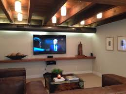 Diy Basement Ceiling Ideas Best 25 Exposed Basement Ceiling Ideas On Pinterest Basement