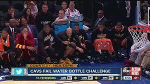 Challenge Water Fail Lebron Fails Water Bottle Flip Challenge During