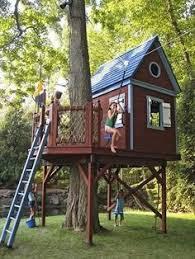 Backyard Zip Line Diy Caydens Future Playhouse Maybe Kids Pinterest Playhouses