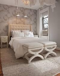 feature wallpaper bedroom home design