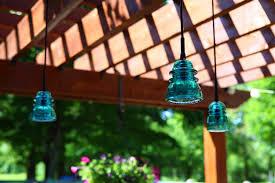 Outdoor Pergola Lights by Outdoor Insulator Pendant Lights Pergola Patio Deck