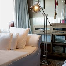 Square Floor Lamp Riviera Maison Langley Square Floor Lamp Houseology