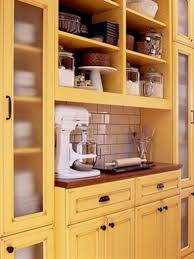 Yellow Kitchen Dark Cabinets by Kitchen Fascinating Yellow Kitchen Cabinets Ideas Pictures Of
