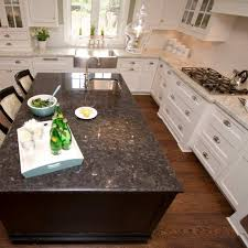 are black granite countertops out of style the side black quartz and black granite countertops