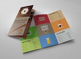 pop up brochure template cafe menu template 40 free word pdf psd eps indesign format