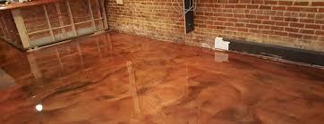 the provincial restuarant metallic epoxy floor project in apex