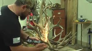How To Make Antler Chandeliers Custom Antler Chandelier From To