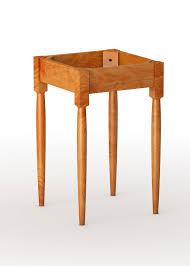 shaker end table plans shaker end table base 25 leg tablelegs com