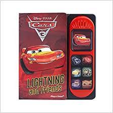 Children Sound Book Book Custom Book Printing Cars 3 Sound Book Lightning Mcqueen 9781503715219 Pi