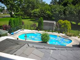 Houses With Pools Design Garden Simple House With Pool And Garden Just Another
