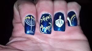 hanukkah nail hanukkah chanukah nail gallery