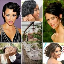 black girls front poof updo hairstyle 5 top bridesmaid hairstyles