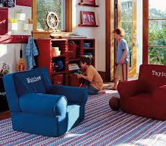 Oversized Red Chair Pottery Barn Kids Oversized Anywhere Chair