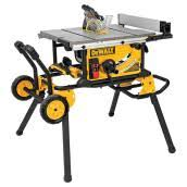 universal table saw stand with wheels stationary and bench top tools table saws rona