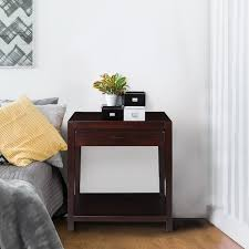 nightstand l with usb port notre dame nightstand with usb port free shipping today