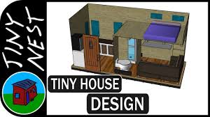Tiny Houses Designs Tiny House Design 3d Modeling Ep 3 Youtube