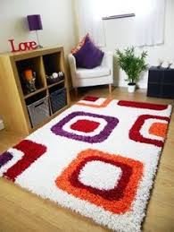Extra Large Red Rug Modern Red Beige White Black Design 5x8 Area Rug Carpet New