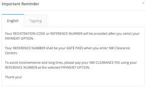 Authorization Letter Sample For Claiming Back Pay How To Apply For Nbi Clearance Online Nbi Clearance