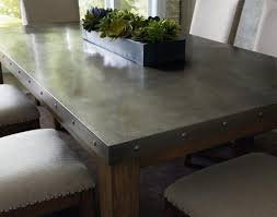 Used Stainless Steel Tables by Dining Tables Round Industrial Dining Table Reclaimed Wood And