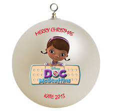 personalized doc mcstuffins ornament gift home