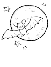 Coloring Halloween Pages by Coloring Pages Draw A Bat Coloring Page