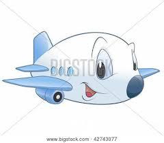 imagenes animadas de aviones vector y foto avión de dibujos animados bigstock