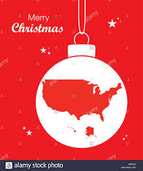 merry map usa stock vector illustration vector