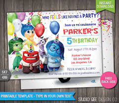 85 off inside out invitation instant download printable