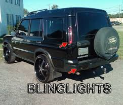 discovery 2 rear light conversion land rover discovery tinted tail l light overlay kit smoked film
