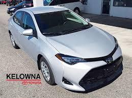 lexus service kelowna new 2017 toyota corolla le 4 door car in kelowna 7cl3895