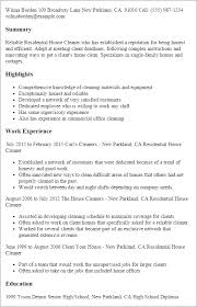 resume sle for cleaner 28 images top 8 cleaning supervisor